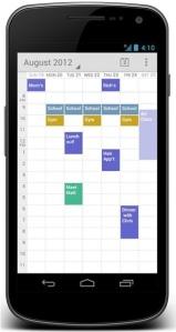 Las rutas volcadas en Google Calendar