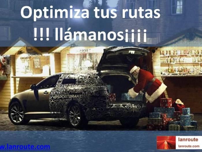 En navidades optimiza tus rutas con Lanroute